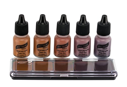 ...Fast Delivery Graftobian HD Sampler Pack - Creme and Airbrush Foundation (N