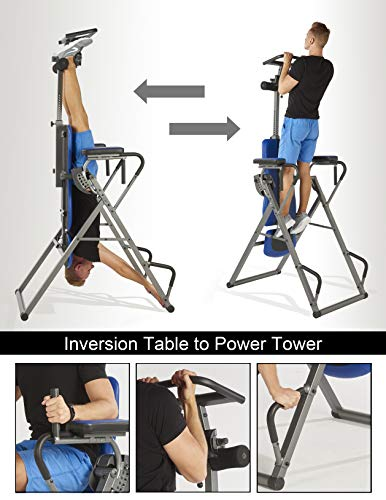 ...Fast Delivery Innova ITP1000 12-in-1 Inversion Table with Power Tower Worko