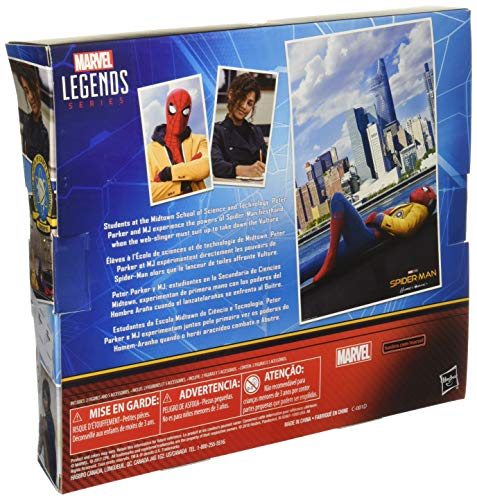 ...Fast Delivery Marvel Legend 2-Pack Spider-Man Homecoming Spiderman and MJ