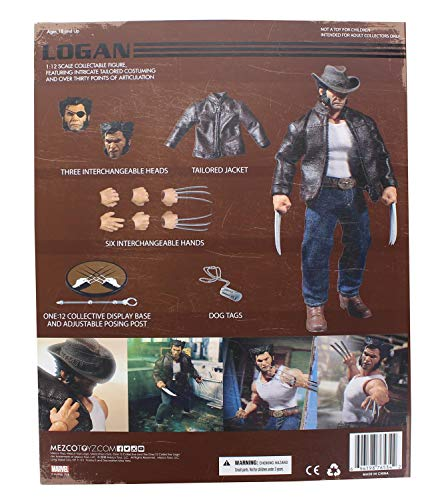 ...Fast Delivery Mezco Toys One: 12 Collective: Marvel Logan Action Figure