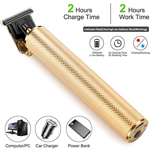 ...Fast Delivery T-Blade Trimmer Hair Clippers for Men, Electric Pro Li Outlin