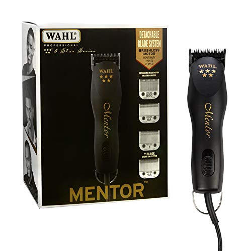 ...Fast Delivery Wahl Professional 5-Star Mentor Clipper with 4 Detachable Bla