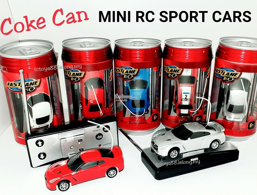 fast lane mini rc car coke can remot end 3 25 2019 4 35 pm. Black Bedroom Furniture Sets. Home Design Ideas