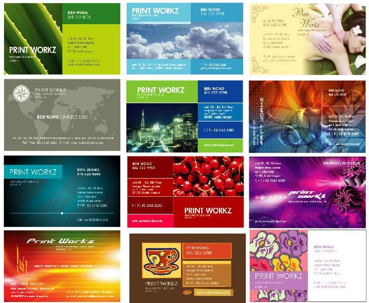 Fast Nam Card Printing Service RM20 FULL COLOR