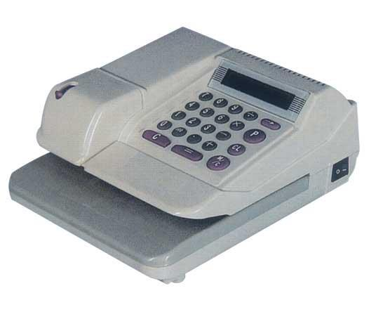 FAST PRINT CURRENCY CHEQUE WRITER / CHECKWRITER ( 2 YEARS WARRANTY )