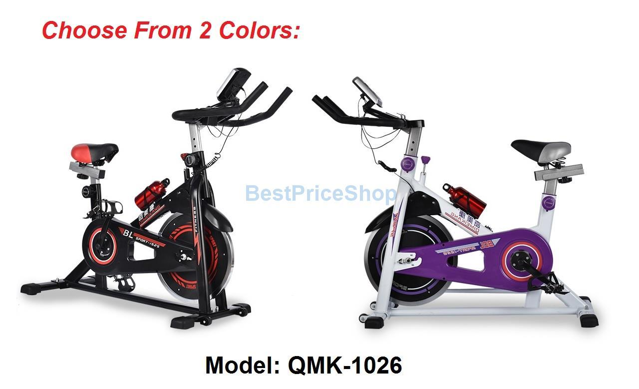 Fast Slim Gym Fitness Spinning Bicycle Cycling Exercise Bike QMK-1026