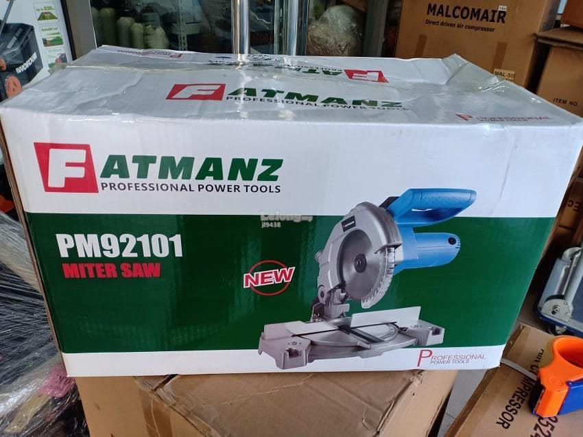 Fatmanz PM92101 1200W 4500RPM Professional Miter Saw With Steel Blade