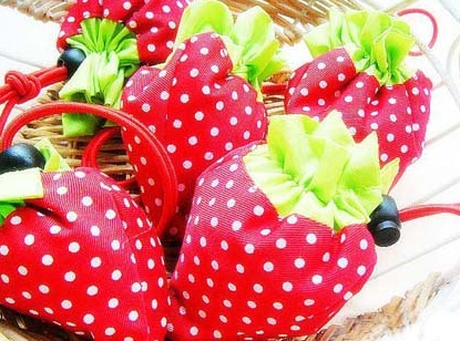 Favors/Door Gifts- 100 pieces STRAWBERRY Foldable Bag (Wedding/Events)  sc 1 st  Lelong.my & Favors/Door Gifts- 100 pieces STRAWB (end 6/1/2018 12:00 AM)