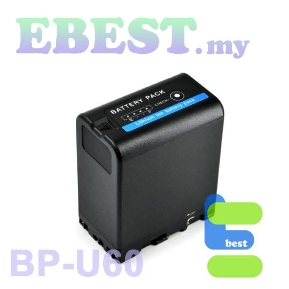 FB BP-U60 Li-ion Rechargable Battery Compatible with Sony