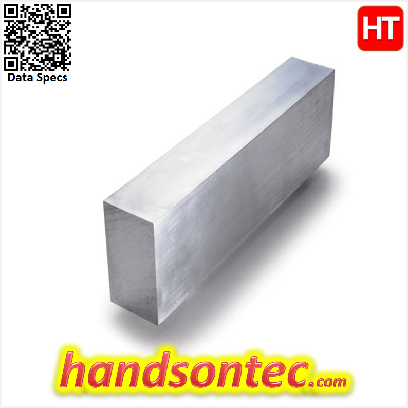"FB6061 1.00""×5.00"" Aluminum Flat Bar L=300mm"