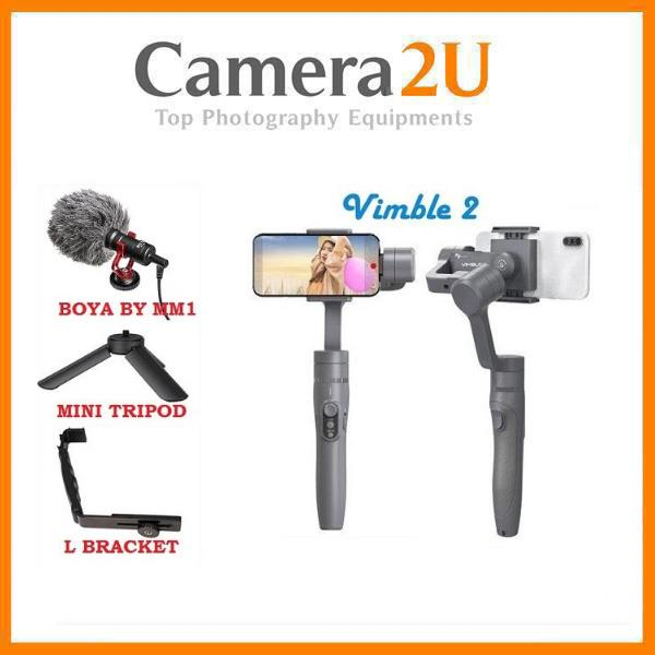 Feiyu Vimble 2 Gimbal With Microphone Kit for Vlogging