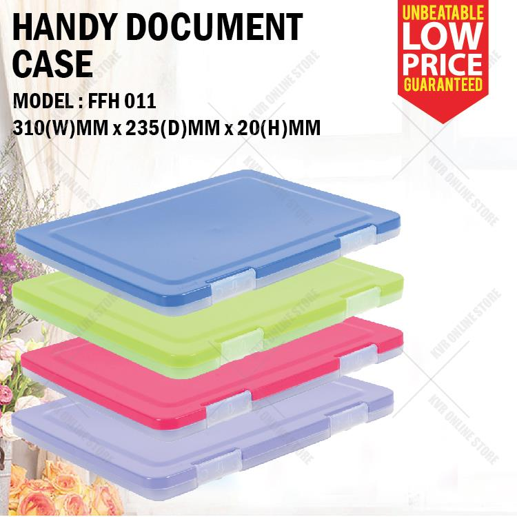 FELTON A4 Plastic Document Files Case Holder FFH 011