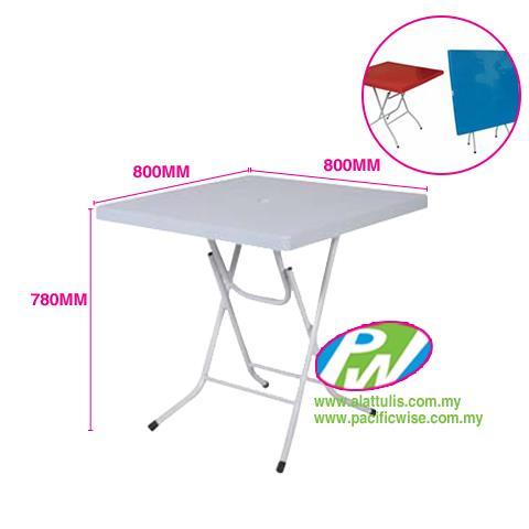 Felton Plastic Square Foldable Table   FST 881. U2039 U203a