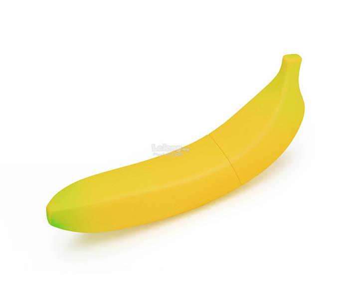 Female Vibrating Buzzin' Banana Dildo