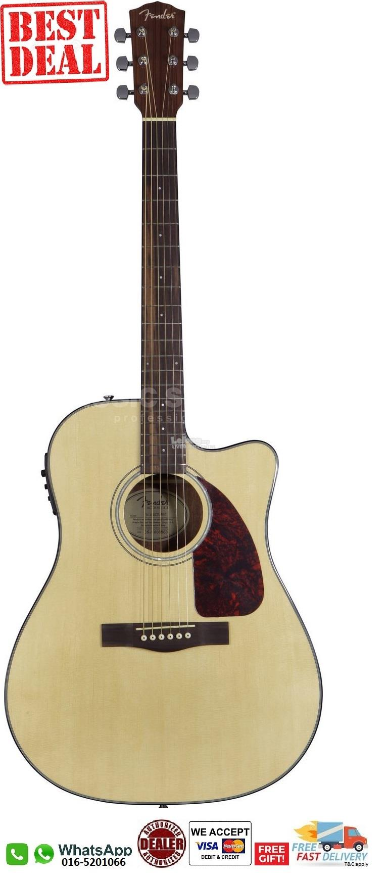 FENDER CD140 SCE - NT semi acoustic guitar