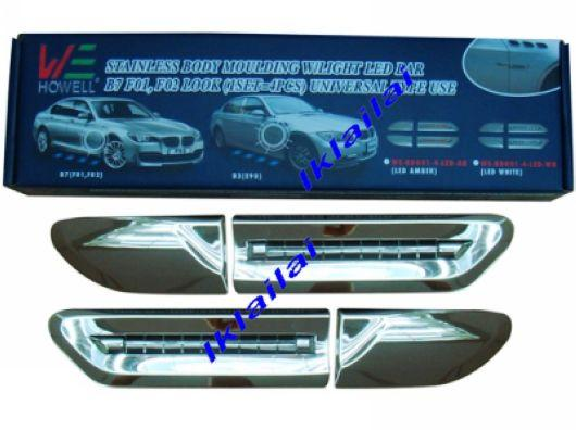 Fenderside lamp led light bar wchr end 2192018 336 pm fenderside lamp led light bar wchrome moulding bmw 7 series f01 mozeypictures Images