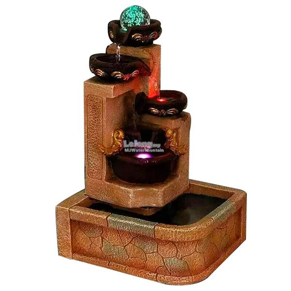 Tabletop water fountain malaysia borderless natural pebble for Indoor water fountain design malaysia