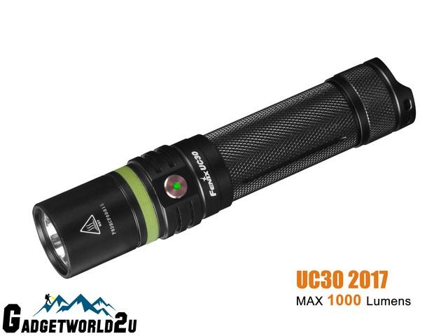 Fenix UC30 2017 CREE XP-L HI V3 Rechargeable Flashlight