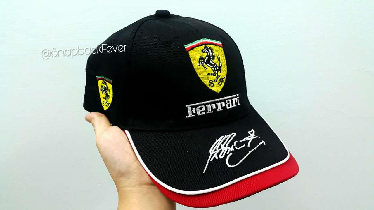 Ferrari Baseball Cap (Black) (end 6 29 2018 10 15 AM) 3cc2b9e6595