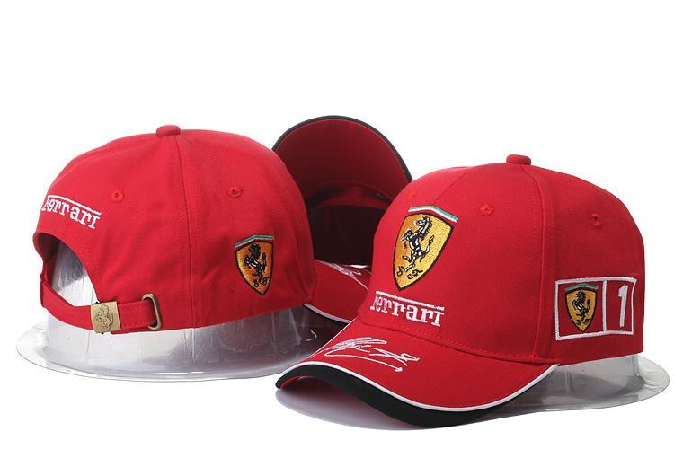 Ferrari Baseball Cap (Red) (end 6 29 2018 10 15 AM) eae8ad80a81