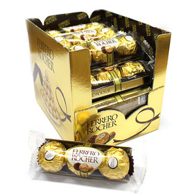 Ferrero Rocher 3 pieces (1 box ) 16 x 37.5g - Italy