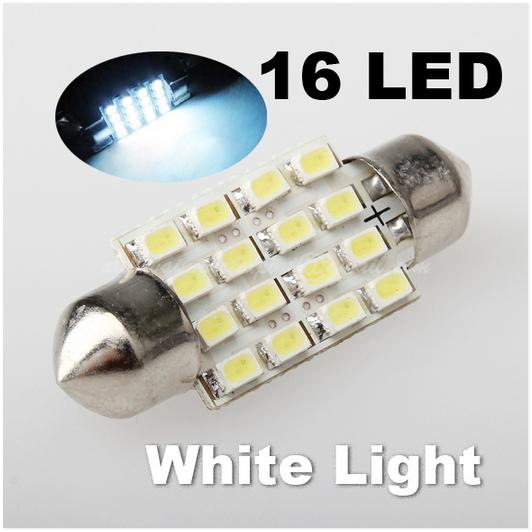 Festoon Lantern 1206 16SMD 36MM Power Trunk Light Automotive Lighting1