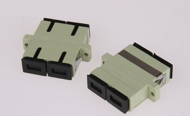 FIBER OPTIC SC SC COUPLER DUPLEX MM (S058)