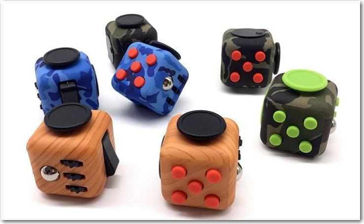 Fidget Cube Stress Reliever ORI USA Quality LIMITED Ed Rdy Stock