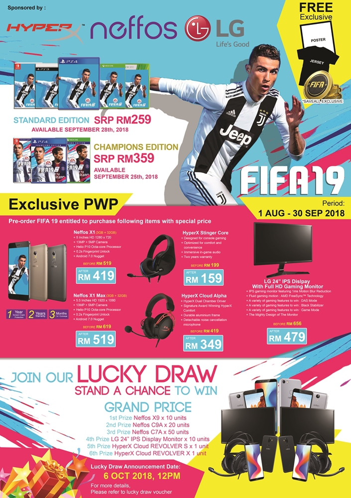 fifa 19 champions edition switch