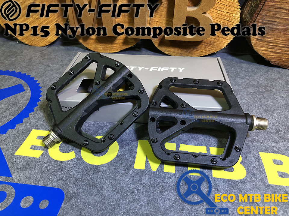 FIFTY-FIFTY NP15 Nylon Composite Pedals