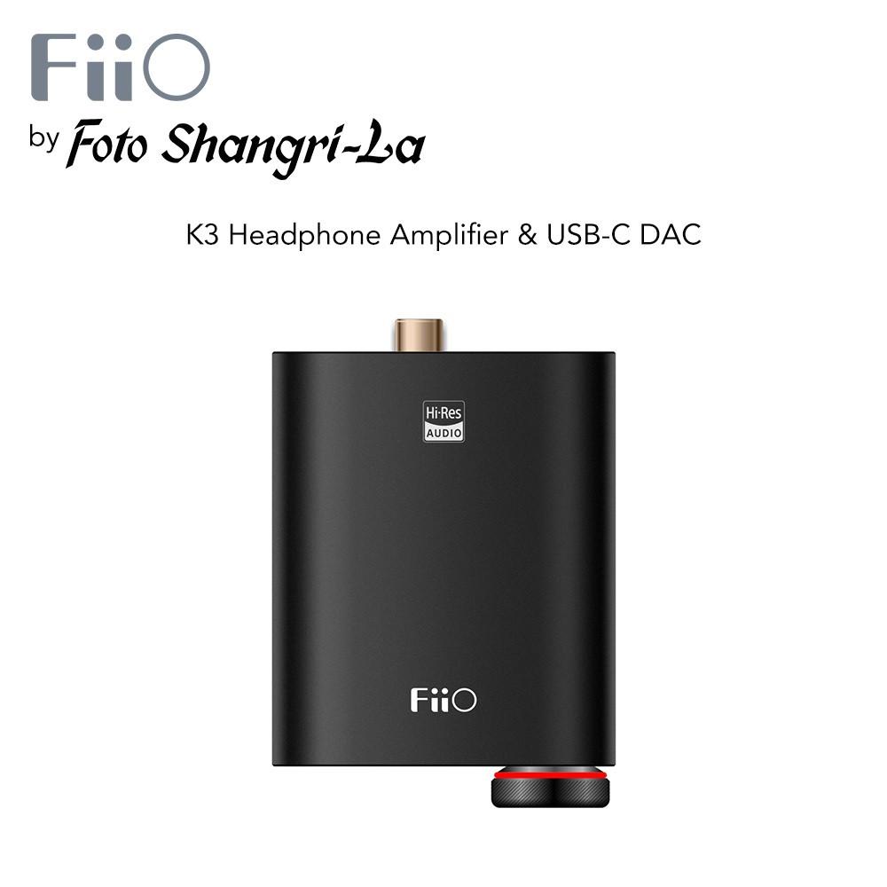 FiiO K3 Pocket-sized Power Flexibility Headphone Amplifier & USB-C DAC