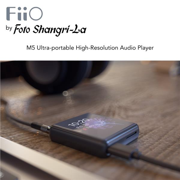 FiiO M5 High Resolution Touch Screen Bluetooth Music Player