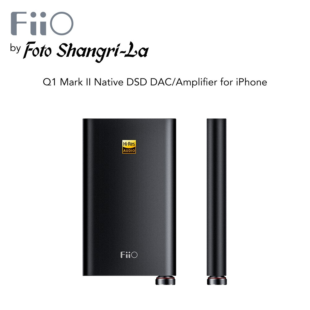 FiiO Q1 A shot of pure digital goodness Portable headphone AMP  & DAC