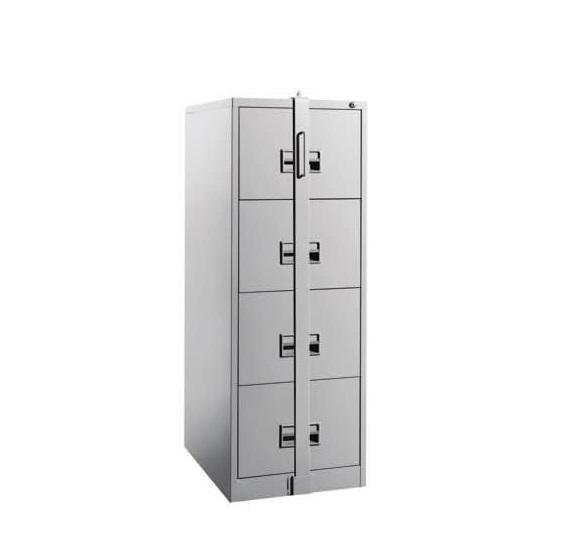 Filing Steel Cabinet With 4 Drawer [Locking Bar]   Furniture Malaysia