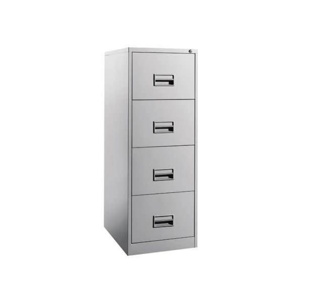Filing Steel Cabinet with 4 Drawer OFS106AB Steel furniture selangor