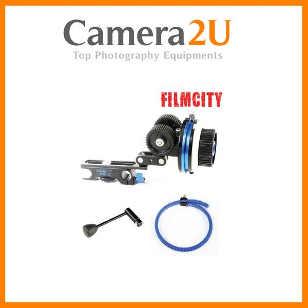 FILMCITY HS-1 DSLR FOLLOW FOCUS WITH 2 HARD STOPS
