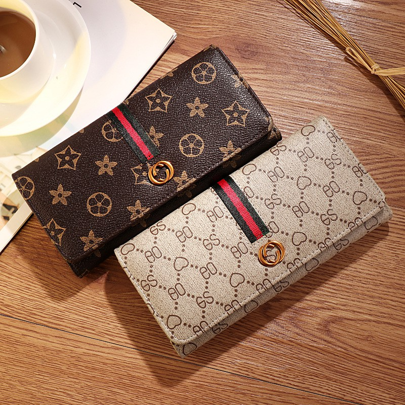 Finda OO Warni Long Purse Wallet Bag Phone Dompet Pouch Purse