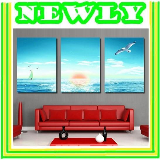 Fine Artistic Design Painting Wall Art - Landscape Sea View