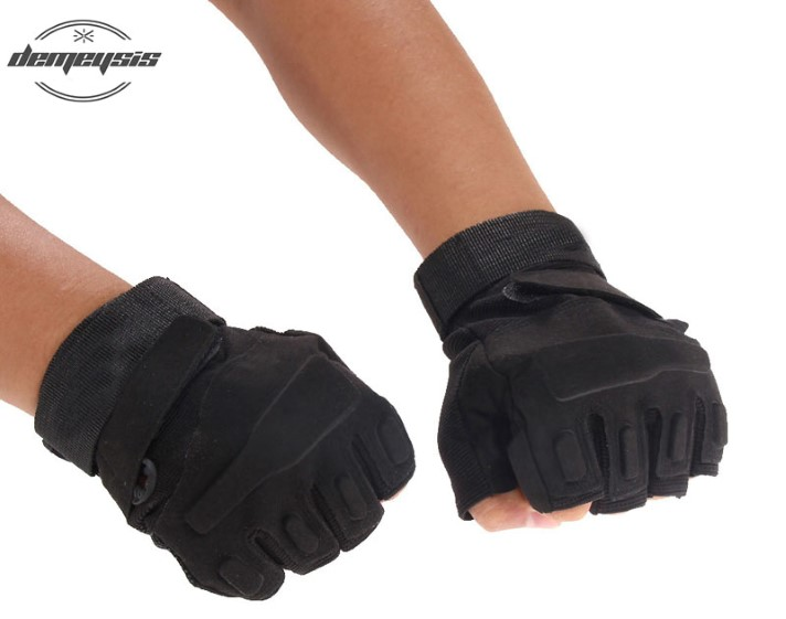 Half Finger Tactical Gloves Military Airsoft Hunting Riding Outdoor Sp