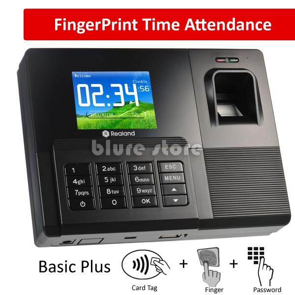 FingerPrint Attendance Finger Print punch card machine Tag ID card