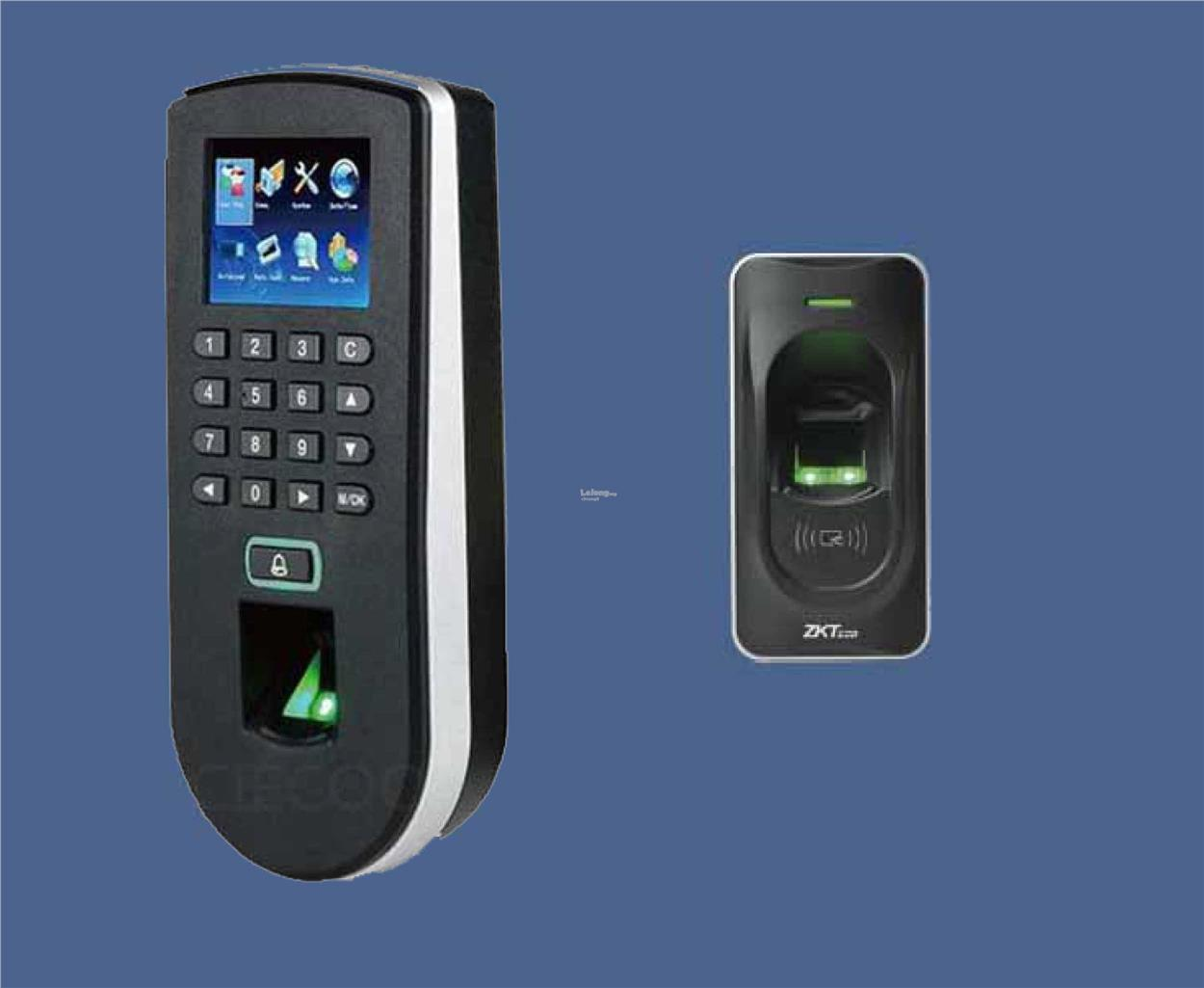 Fingerprint RFID Door Access with Attendance TF1900 + FR1200 S & Fingerprint RFID Door Access with A (end 11/2/2018 10:15 AM)