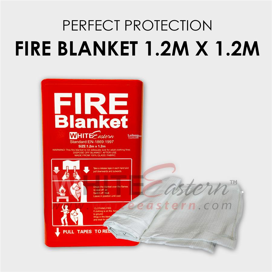 Fire Blanket box 1.2M*1.2M, PVC box pack 灭火毯