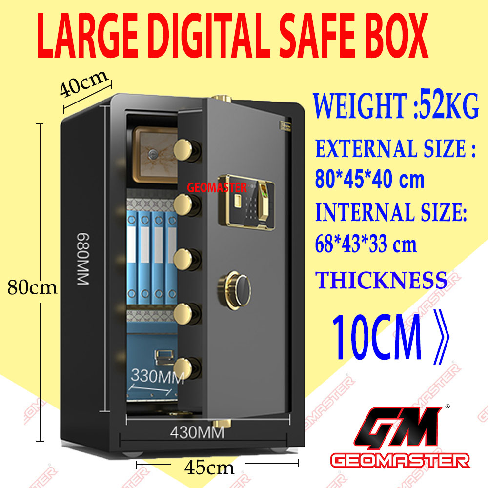 FIRE PROOF SAFE , SAFETY BOX , DOCUMENT SAFE BOX
