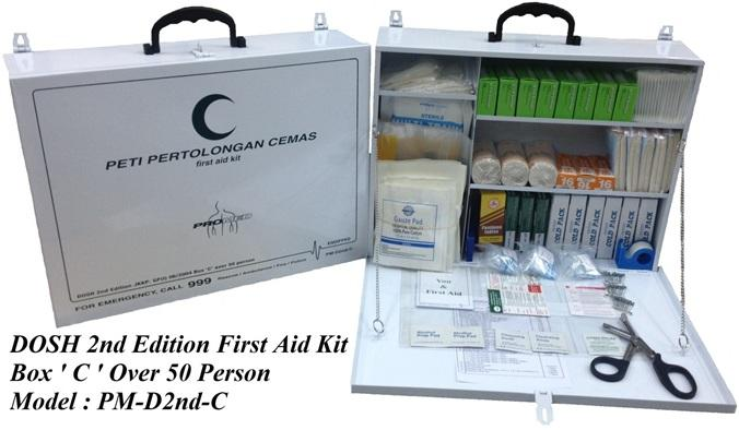 First Aid Kit-DOSH 2nd Edition Over 50 person