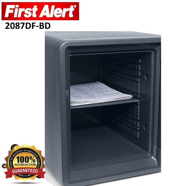 First Alert 0.94 Cubic Foot 2087DF-BD Fire Resistant Digital Safe