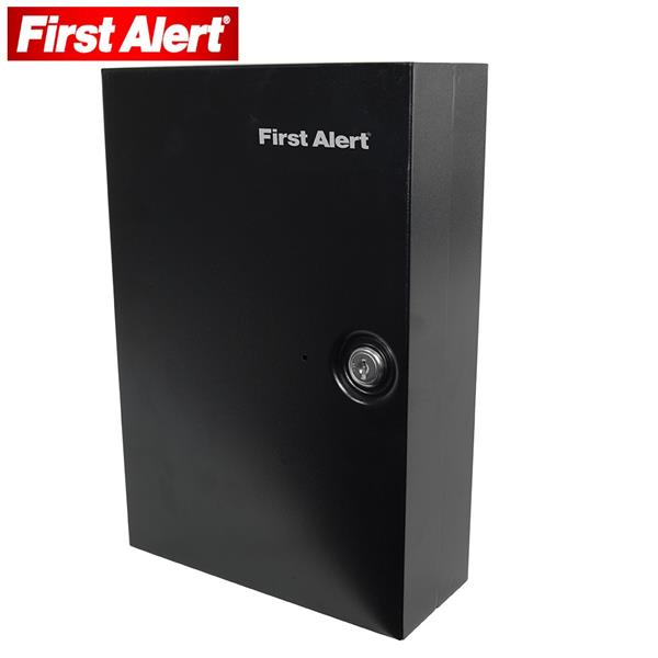 First Alert Steel Wall Mount Key Cabinet Holds up to 28 Keys