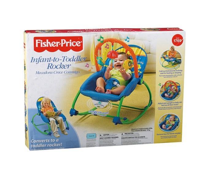 2b354abc9 Fisher Price Infant Toddler Baby Rocker - Blue