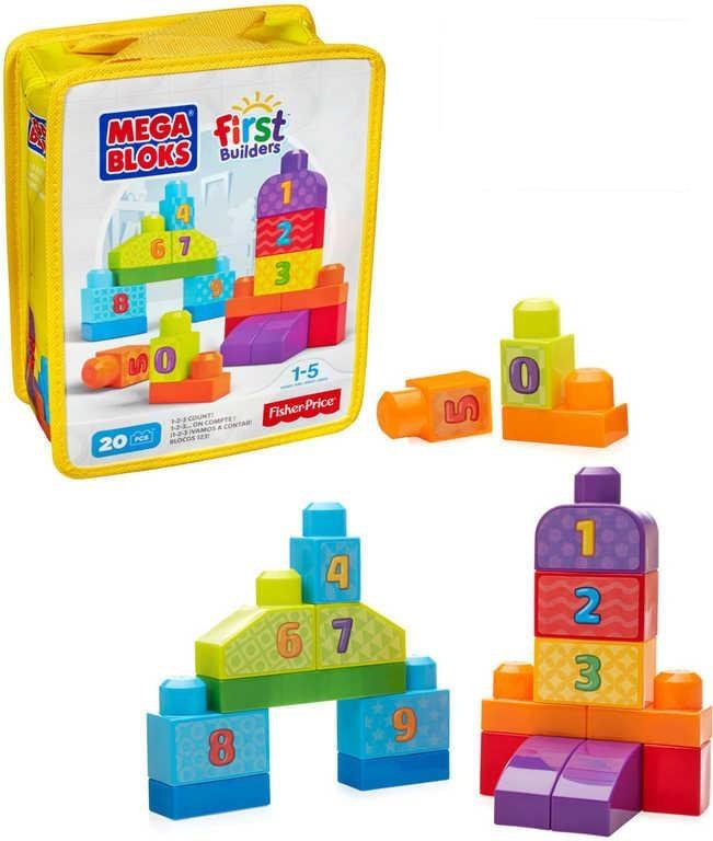 beautiful price builders #6: Fisher Price Mega Bloks First Builders 1-2-3 Count (For Age 1