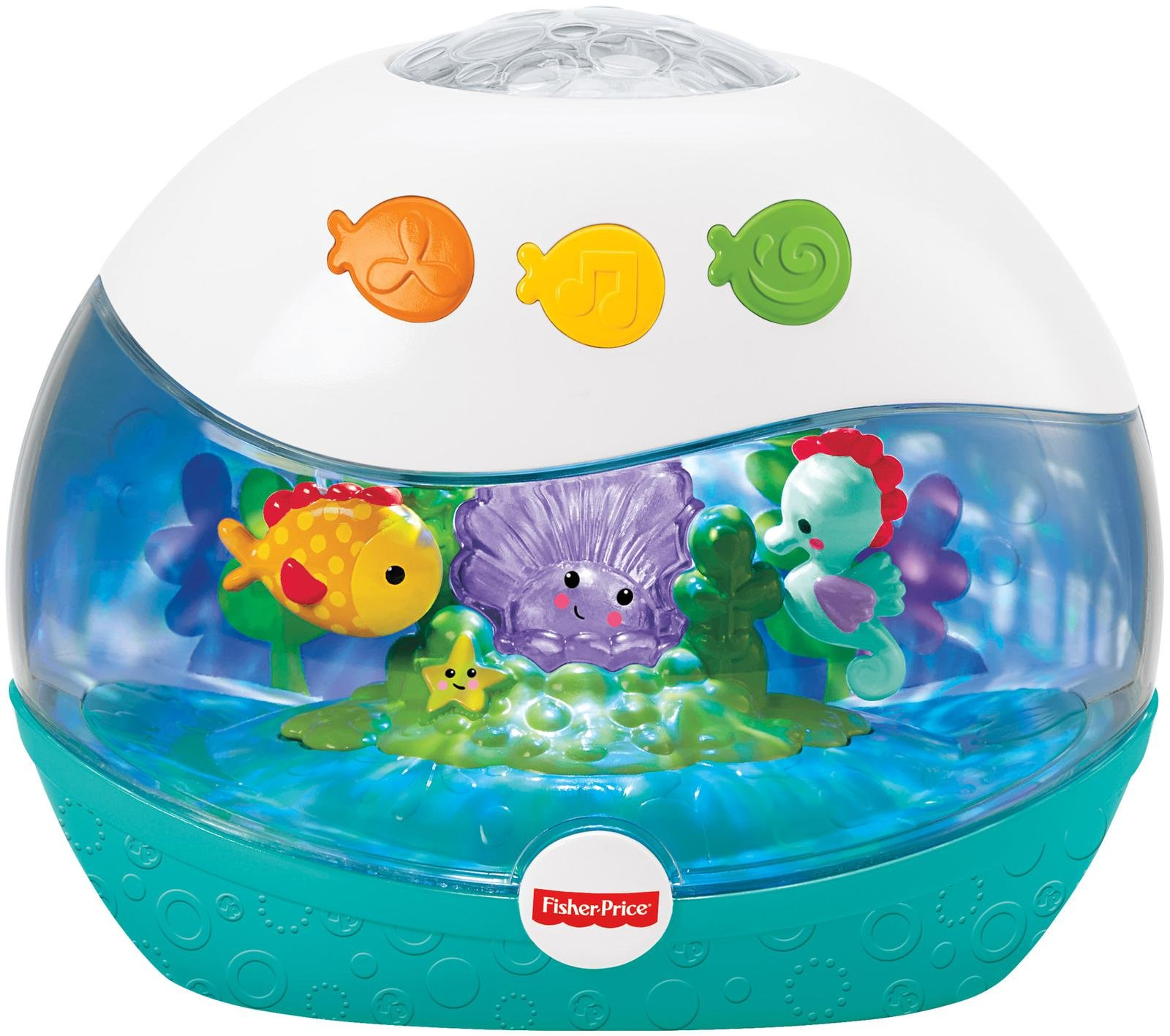 [FISHER PRICE] Newborn Calming Sea Projection Soother Infant Toy (0 Mo
