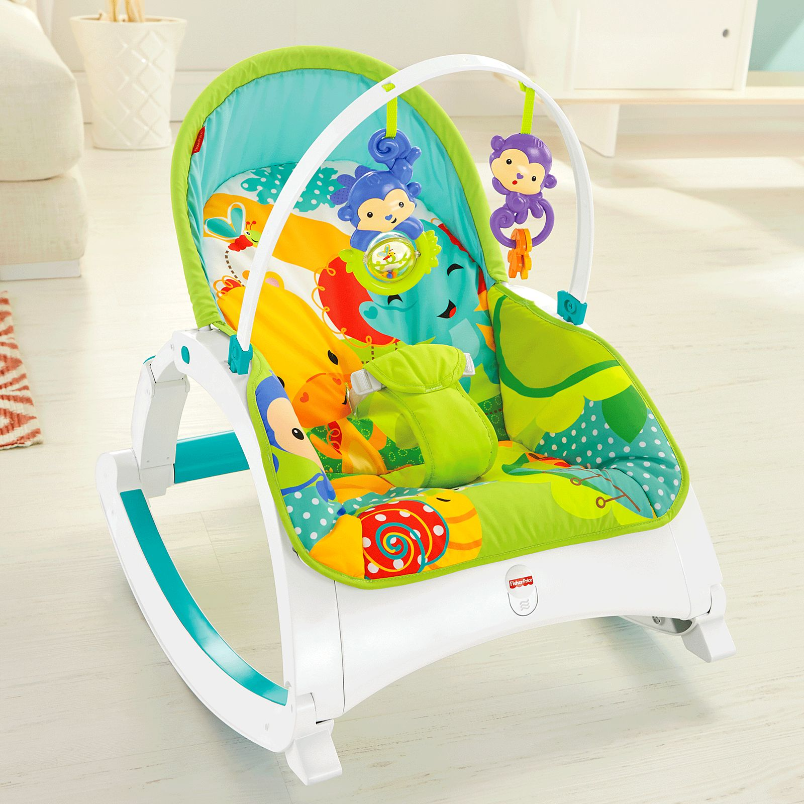 Fisher Price Rainforest Friends New End 2 5 2020 314 Pm Infant To Toddler Pink Rocker Newborn Portable